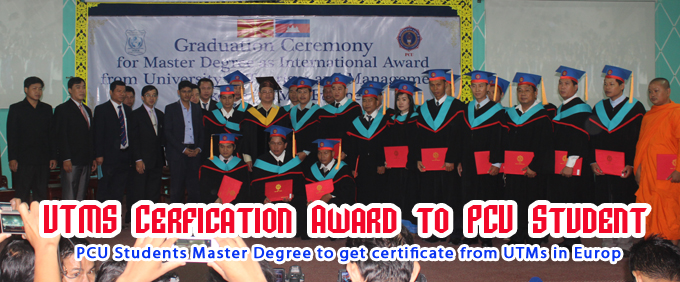 Graduation Ceremony from UTMs